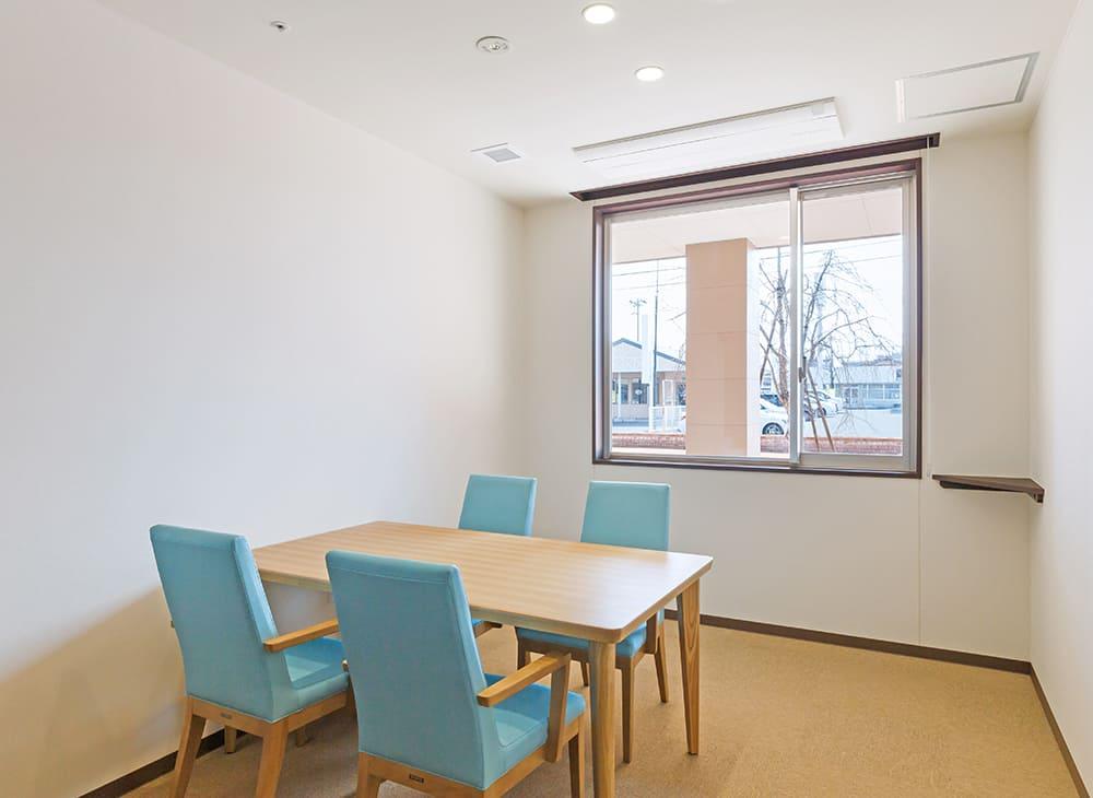 特別養護老人ホーム イル・ヴィラージュ 1階 相談室(王子建設施工)