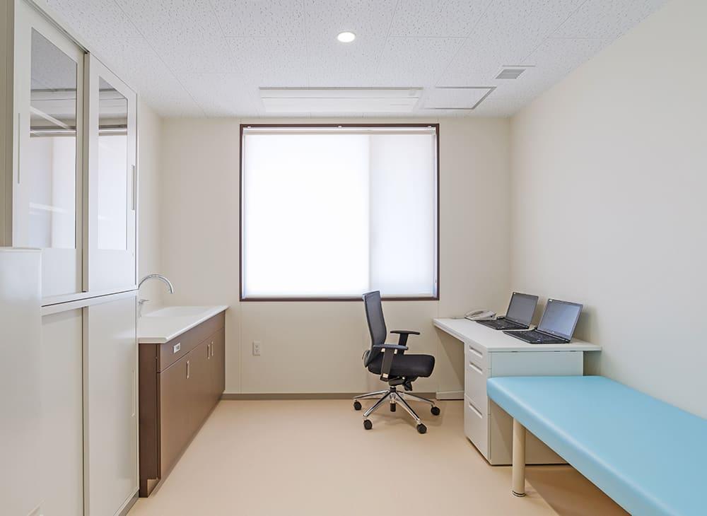 特別養護老人ホーム イル・ヴィラージュ 1階 医務室(王子建設施工)