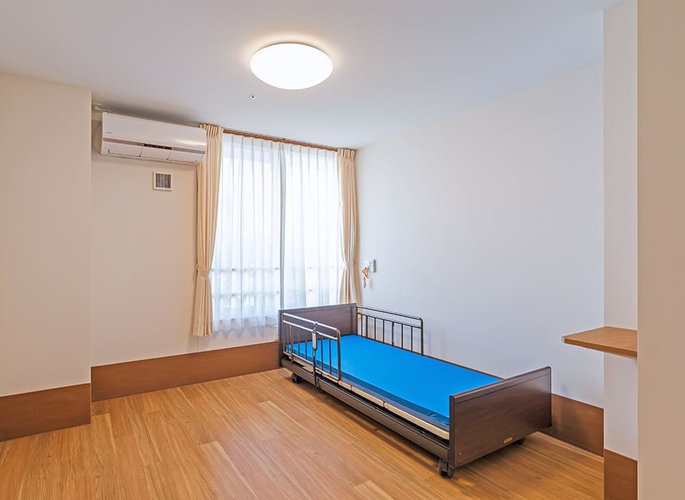 特別養護老人ホーム イル・ヴィラージュ 4階 居室(王子建設施工)