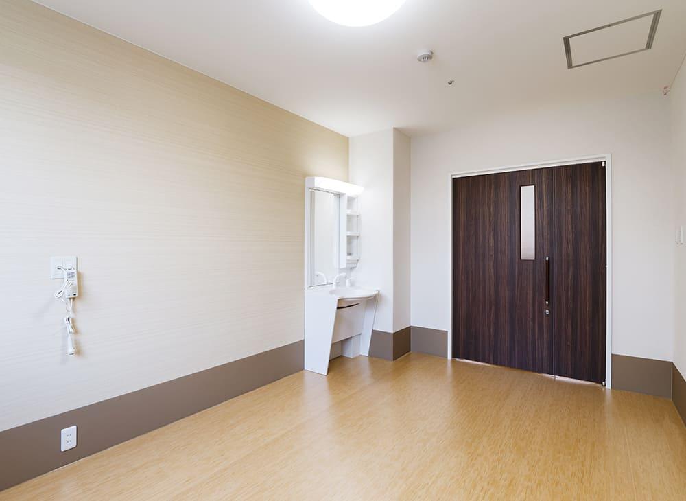 有料老人ホーム「縁」「恵」1階 居室(王子建設施工)