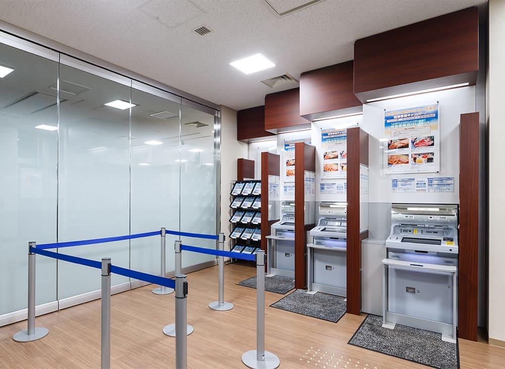 東邦銀行(桑野・西ノ内支店)