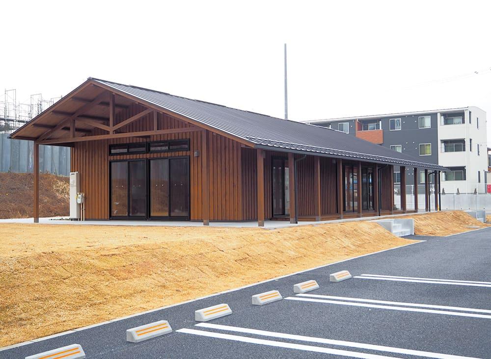 復興公営住宅 富田団地1号棟 集会所外観2(王子建設施工)