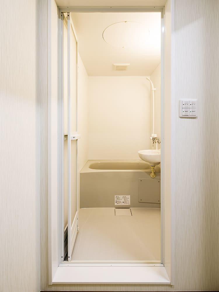王子建設 法人施設施工事例 浴室
