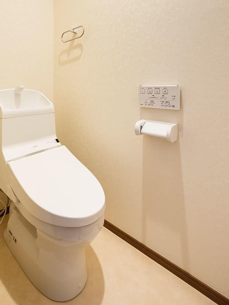 王子建設 法人施設施工事例 トイレ
