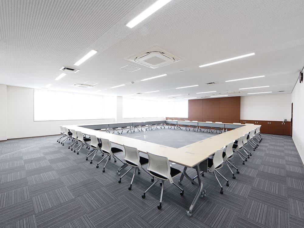王子建設 法人施設施工事例 会議室