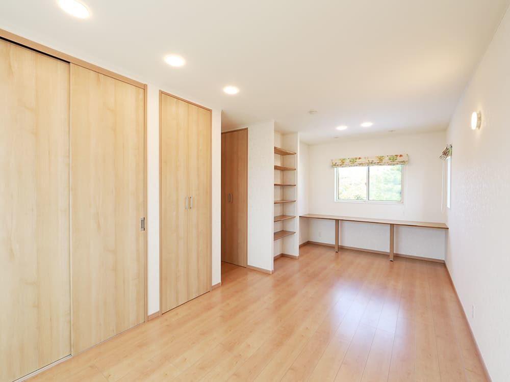 王子建設 個人住宅施工事例 洋室