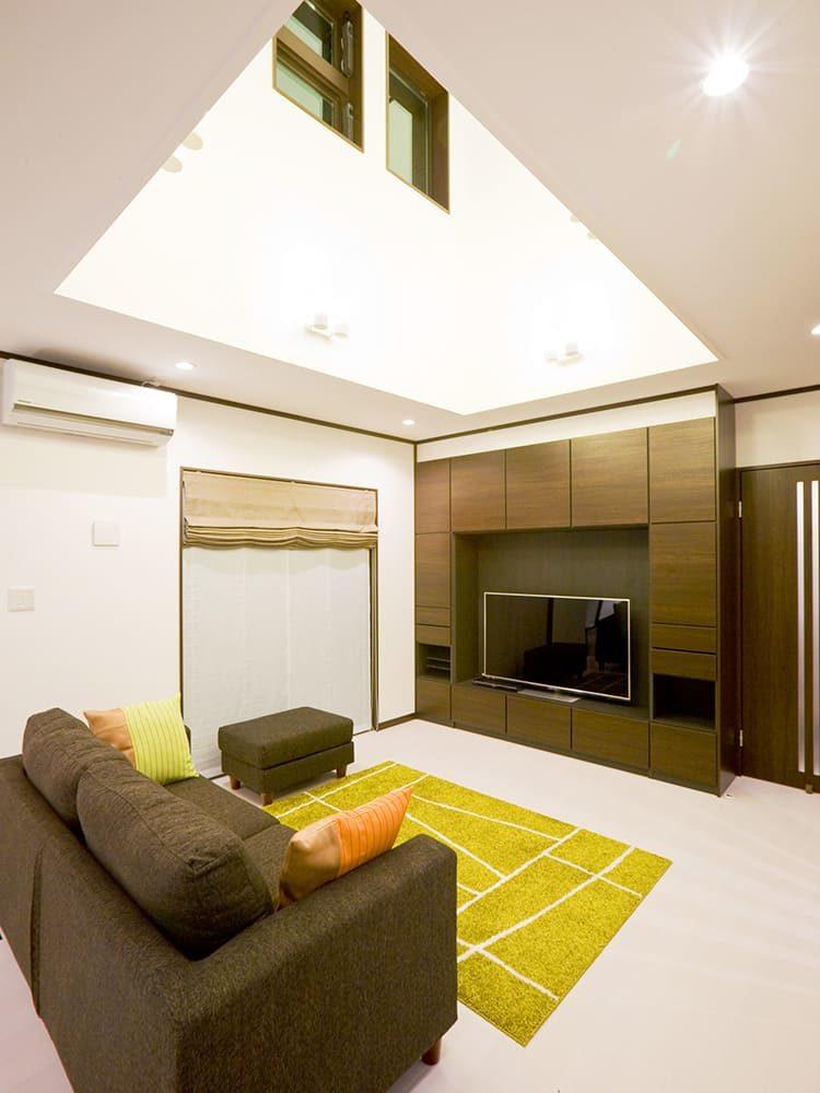 王子建設 個人住宅施工事例 リブング2