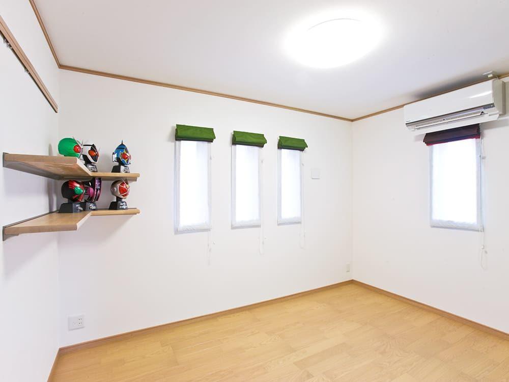 王子建設 個人住宅施工事例 洋室2
