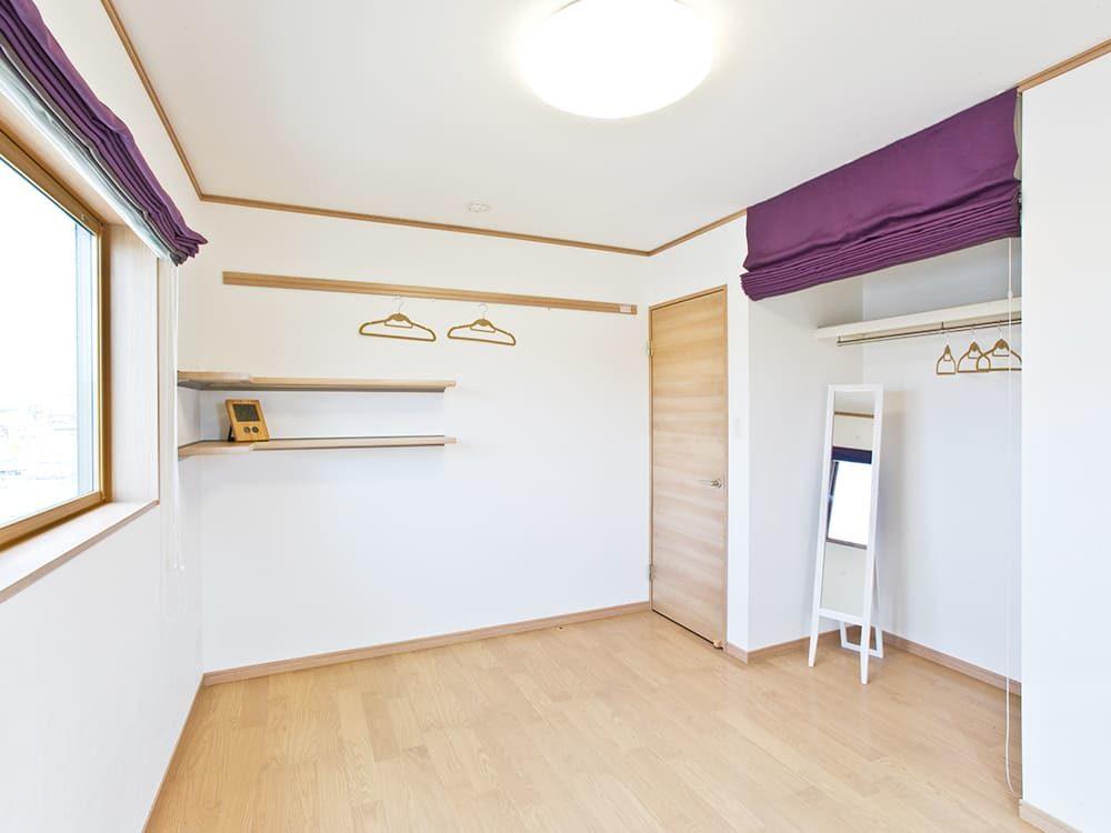 王子建設 個人住宅施工事例 洋室1