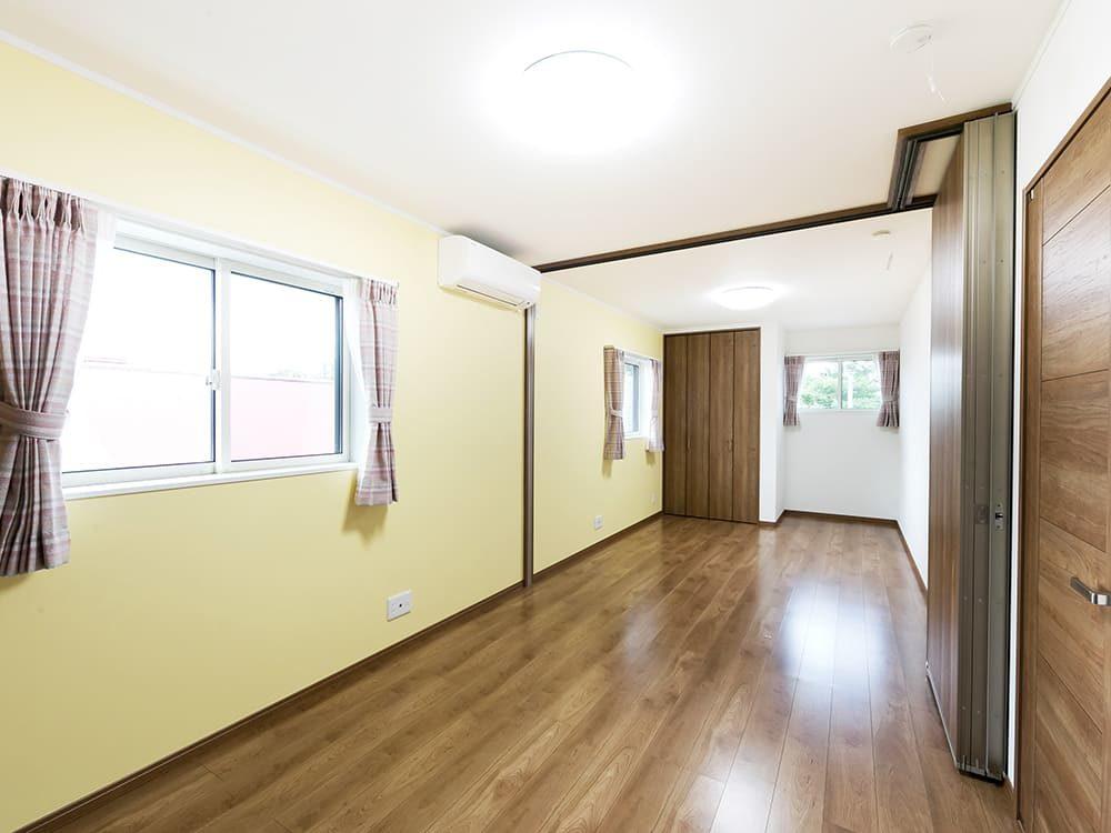 王子建設 個人住宅施工事例 2F洋室