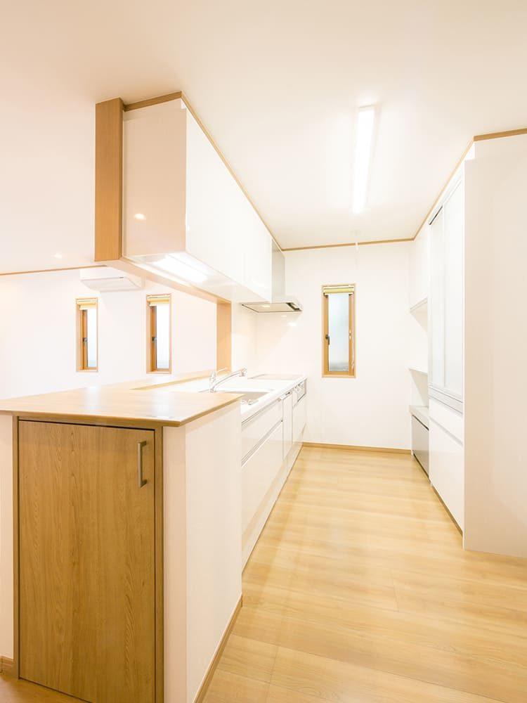 王子建設 個人住宅施工事例 キッチン