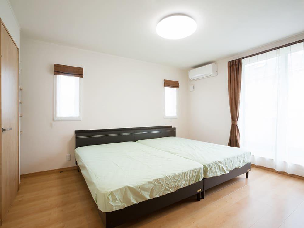 王子建設 個人住宅施工事例 主寝室