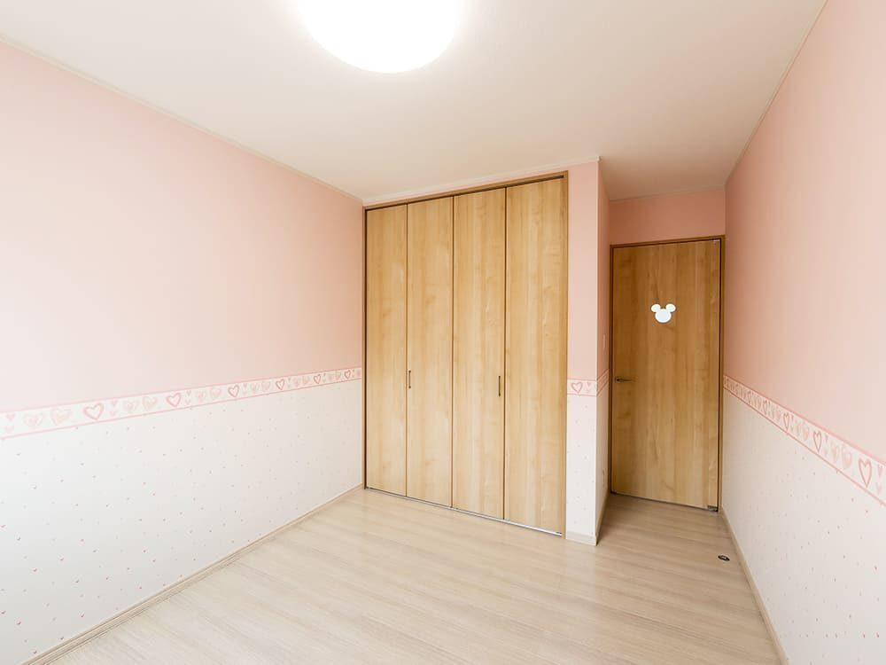王子建設 個人住宅施工事例 洋室4