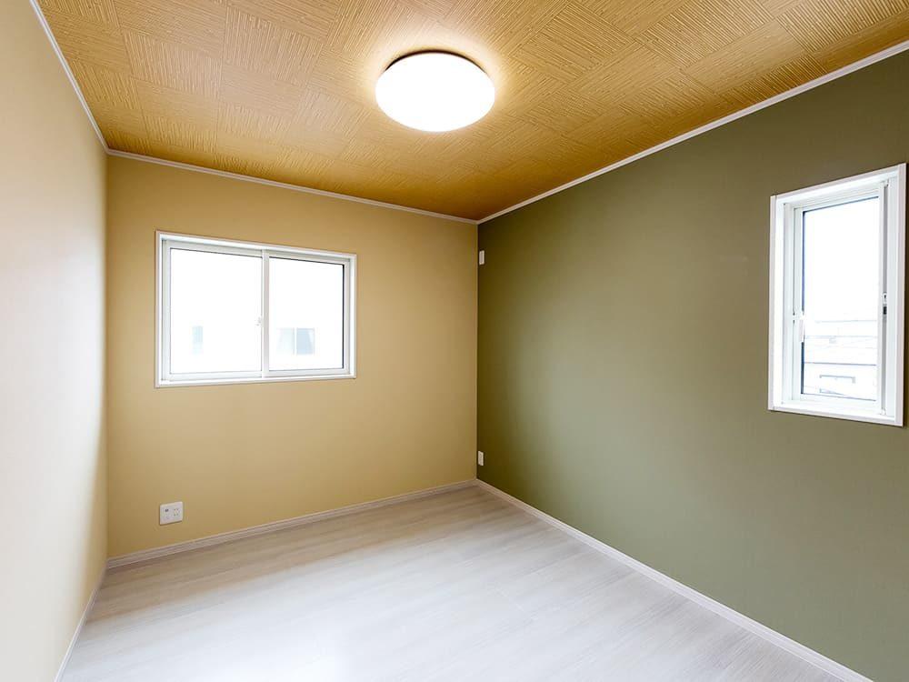 王子建設 個人住宅施工事例 洋室3