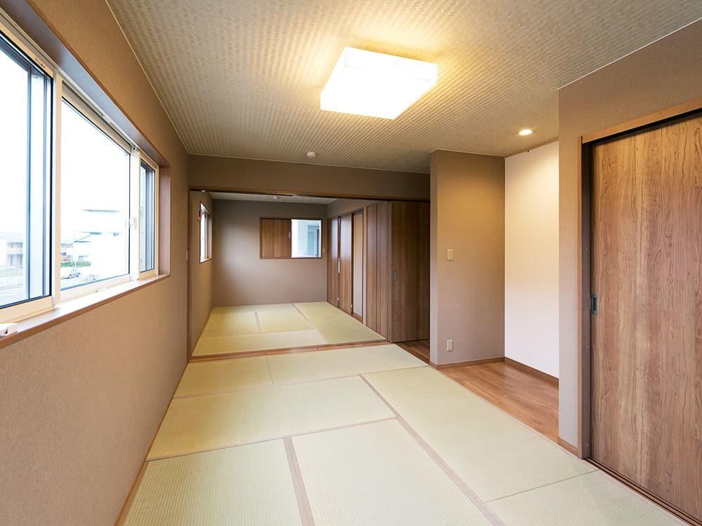 王子建設 個人住宅施工事例 和室