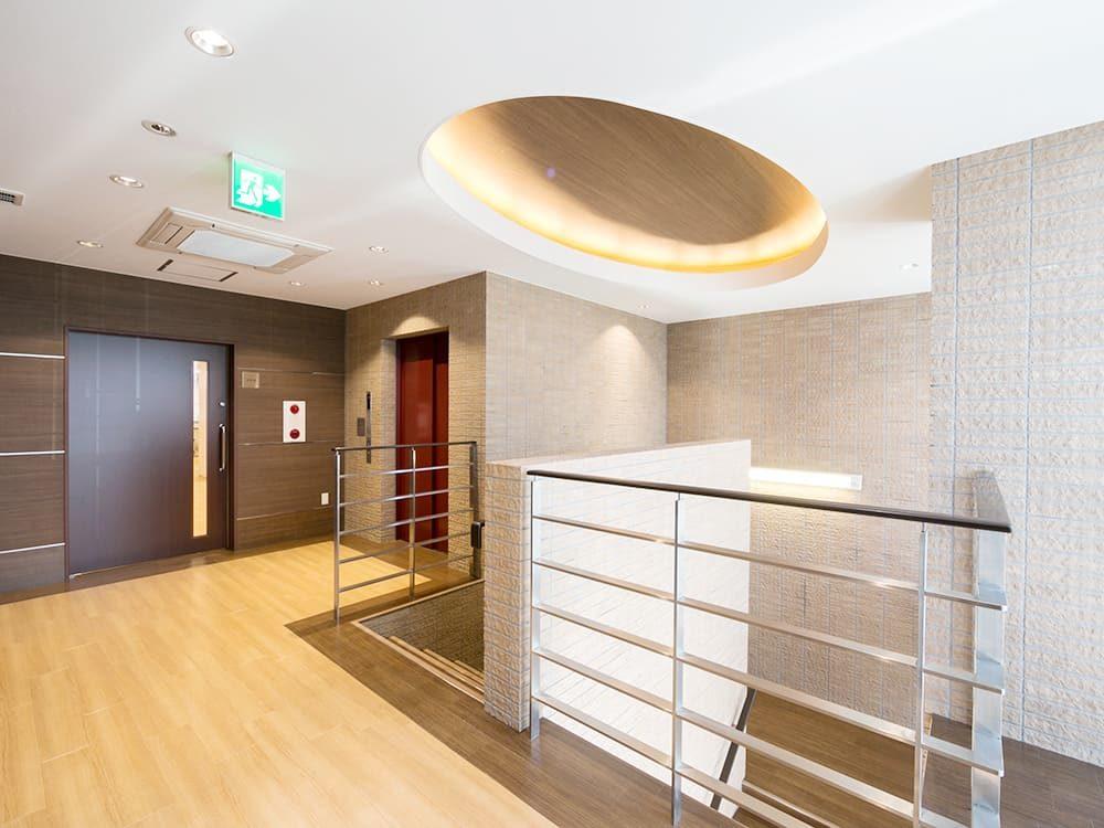 王子建設 法人施設施工事例 2Fホール