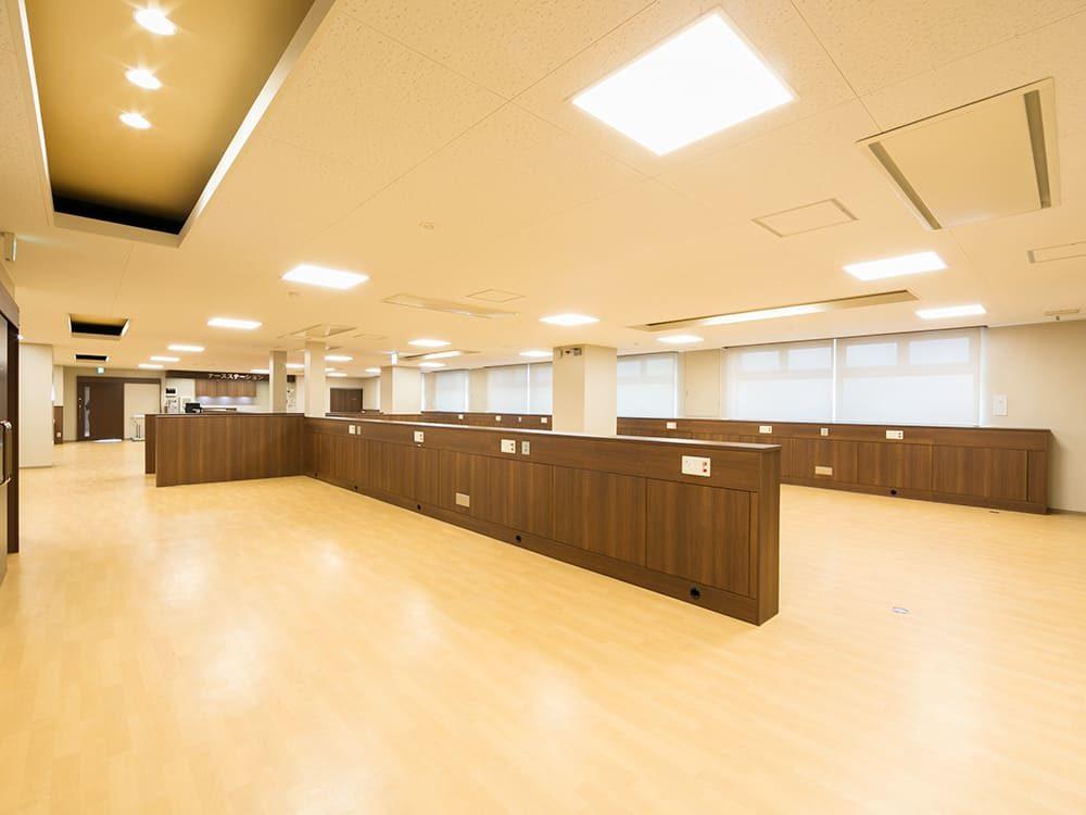 王子建設 法人施設施工事例 1F透析室