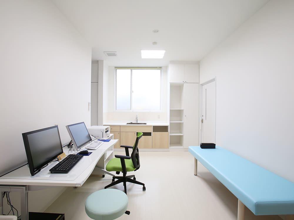 王子建設 法人施設施工事例 診察室